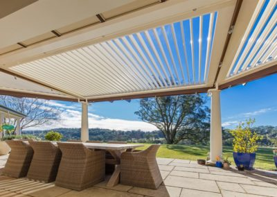 Custom designed opening roof system