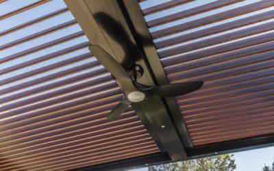 Woodgrain Opening Roof System – Turramurra