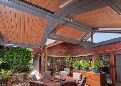Custom design opening roof