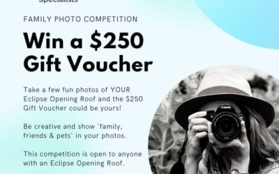 WIN a $250 Gift Voucher – Opening Roof Specialists Family Photo Competition